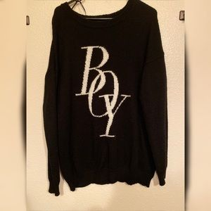 Pull over sweater